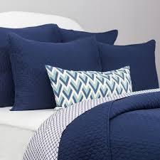 Navy Blue Quilt and Sham | Cloud Navy Blue | Crane & Canopy & Bedroom inspiration and bedding decor | The Cloud Navy Blue Quilt & Sham  Duvet Cover | Adamdwight.com