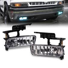 Us 13 16 Us Shipping 2 Pcs Fog Light Lamp Left Right For 99 02 Silverado 00 06 Suburban In Car Light Assembly From Automobiles Motorcycles On