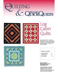 89 best Log Cabin Quilt Patterns images on Pinterest | Logs ... & Free Log Cabin Quilt Patterns - The Quilting Company Adamdwight.com