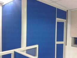 ... Floor to Ceiling Office Partition or Division ...