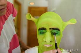 makeup ideas shrek makeup exle of shrek make up notice the use off highlight and