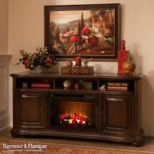 delightful decoration raymour and flanigan fireplace henderson tv console w electric