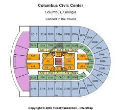 Columbus Civic Center Wwe Seating Chart Columbus Civic Center Tickets And Columbus Civic Center