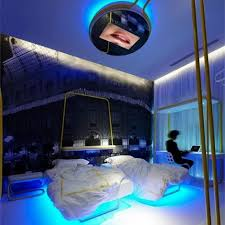 Perfect Cool Lighting For Bedroom. Photo 4 Of 7 Bedroom Lighting:bedroom Led Lights  Led