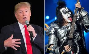 gene simmons split tongue. kiss bassist gene simmons can appreciate a good tongue-wagging. the 66-year-old rocker seemed to show grudging respect for donald trump calling split tongue