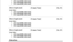 Resume Free To Print Resume Builder Remarkable Free Resume