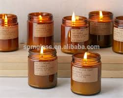Amber Candle Jars, Amber Candle Jars Suppliers and Manufacturers at  Alibaba.com