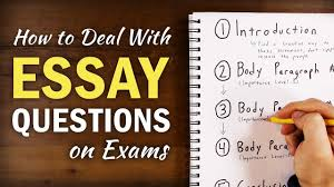 5 Rules For Answering Essay Questions On Exams