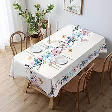 jatef waterproof vinyl tablecloth