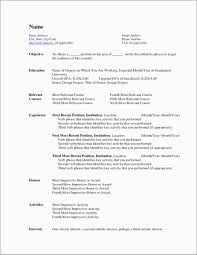 Inspirational Fancy Resume Templates Free Best Of Template