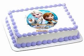 Frozen Girls Cake Online Cake Delivery Noida Frozen Theme Kids Cake