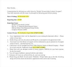Offer Letter Template Doc Employment Copy Resignation Sample