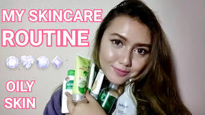 my skincare routine 2016 oily and acne e bahasa indonesia khansamanda