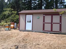 garden shed bee house tuff shed 10x20