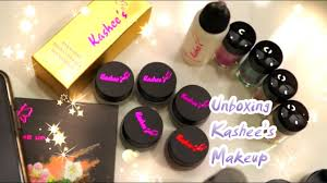 unboxing kashee s makeup s