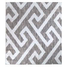 hector gray white area rug wayfair carpets and rugs best round