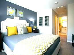 yellow and gray walls bedroom decorating ideas grey furniture