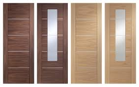 contemporary portici internal doors with aluminium strips