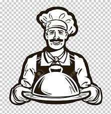 Catering Clipart Cafe Catering Logo Chef Hat Chef Sketch Art Png Clipart