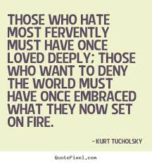 Love And Hate Quotes Custom Quotes About Hatred And Love 48 Quotes