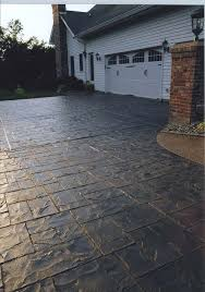 stamped concrete patio cost calculator. Stamped Concrete Driveway Cost Add Character Without Added Costs With A Call . Patio Calculator
