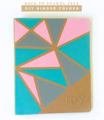 Design Folder Cover Back To School Diy Binder Folder Diy Notebook Cover For