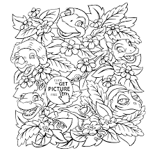 Small Picture Land before time coloring pages for kids printable free