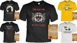 Tier Motiv T Shirt Tierische Sprüche Katzen Motiv T Shirt