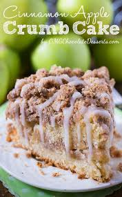 It's ridiculously easy to make. Cinnamon Apple Crumb Cake Recipe