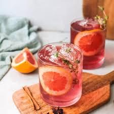poinsettia drink recipe a sparkling