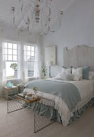 Image Interior 15 Relaxing Blue And White Room With Chandelier Homebnc 30 Best French Country Bedroom Decor And Design Ideas For 2019