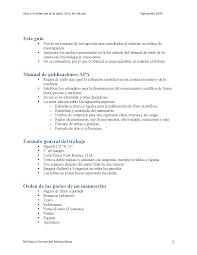 Guía A La Redacción En El Estilo Apa 6ta Edición Docsity