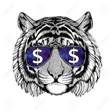 Tiger Tetování Tygr