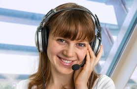 call centre operator with headset at workplace in call center | Stock |  Tokkoro.com Amazing HD Wallpapers