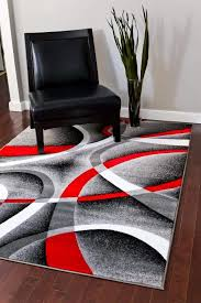 brhbgc red black and gray area rugs unique area rugs