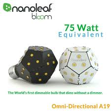 the world s first dimmable bulb that dims without a dimmer dimmable in regular on off light fixtures lamps adjust the brightness with your existing on off