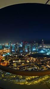 Download Wallpaper 938x1668 Dubai Burj Dubai Night Lights