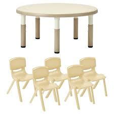 round table with chairs resin round table 5 chairs best table chairs for toddlers