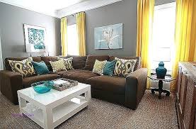 gray walls brown couch grey walls brown couch elegant living room