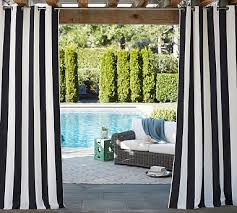 awning stripe grommet outdoor curtain