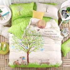 tree patterned duvet cover tree print bedding set twin queen king size bedcover 100 twill cotton duvet cover sets birch tree pattern duvet cover tree print