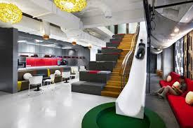 modern interior office. Simple Office Ogilvy U0026 Mather Jakarta  Office Reception Slide Inside Modern Interior