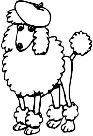 Small Picture Toy Poodle Coloring page Free Printable Coloring Pages Clip
