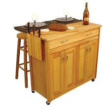 bar stool with wheels. Portable Kitchen Island With Stools. Beige Wooden Cart Drop Leaf Table And Bar Stool Wheels