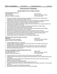 How To Write Federal Resume Federal Resume Samples Resume Templates 10