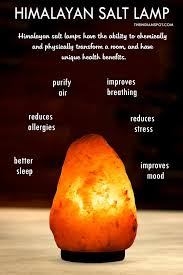 Benefits Of Himalayan Salt Lamps Simple HIMALAYAN SALT LAMP BENEFITS