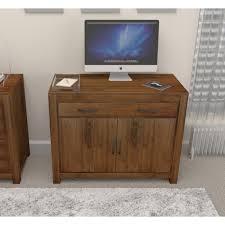 hidden office furniture. Goa Walnut Hidden Home Office Desk Furniture H
