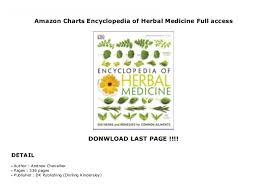 Amazon Charts Encyclopedia Of Herbal Medicine Full Access