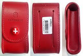 <b>Чехол</b> из нат.кожи <b>Victorinox Leather</b> Belt Pouch красный с ...