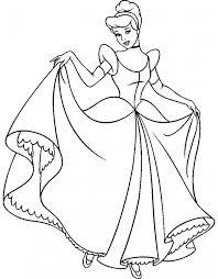 Disegni Principesse Az Colorare